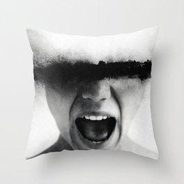 Sometimes i feel like screaming Throw Pillow