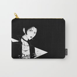Black Stones Carry-All Pouch