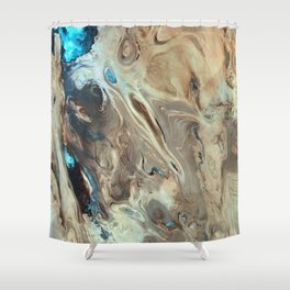 Great Salt Desert Shower Curtain