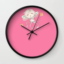Cute Jellyfish Mermaid Wall Clock