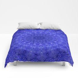 Cosmos Mandala II Cobalt Blue Comforters