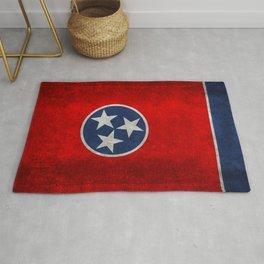 Tennessee State flag, Vintage version Rug