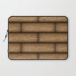 Realistic wood texture Laptop Sleeve
