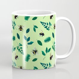 English bees and leaves Coffee Mug