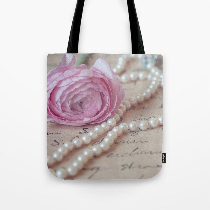 Pink Luxury Tote Bag