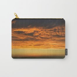 Dramatic orange - clouds on fire Carry-All Pouch