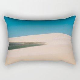 Sun, Wind & Sand (I) Rectangular Pillow