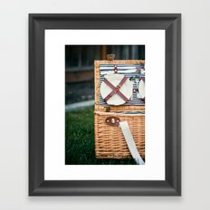 Time for a Picnic Framed Art Print