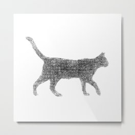 Dust kitten Metal Print