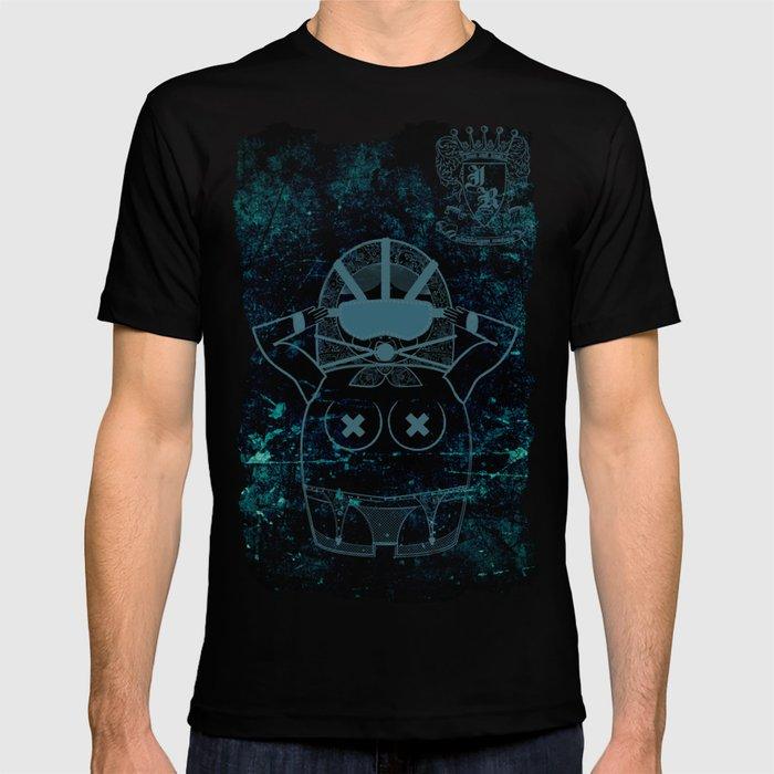 Blueprint Wise (background) Matryoshka / Nesting Doll T-shirt