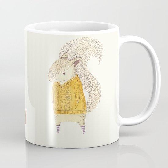 The Last Acorn of Autumn Mug