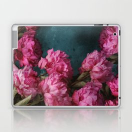Peony Romance Teal Laptop & iPad Skin