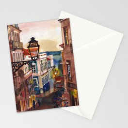 Wine Bar in Lisbon Stationery Cards