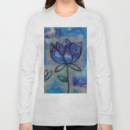 Abstract - Lotus flower - Intuitive Long Sleeve T-shirt