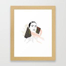 ensnared Framed Art Print