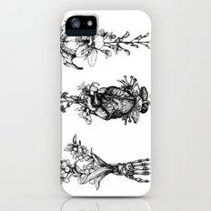 In Bloom - herbarium iPhone SE Slim Case