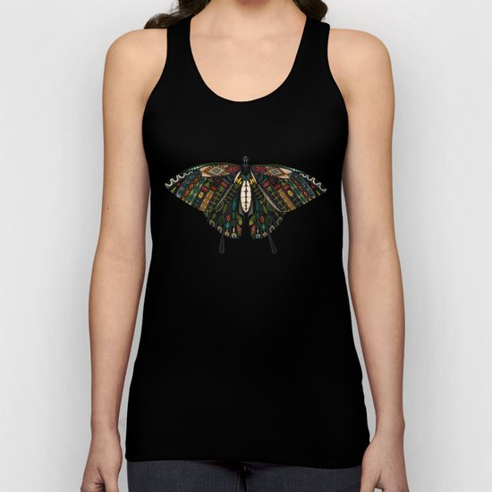 swallowtail butterfly terracotta Unisex Tank Top