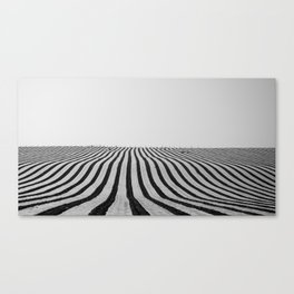 Wireframe Canvas Print