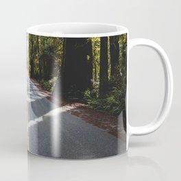 Redwoods Road Trip - Nature Photography Coffee Mug