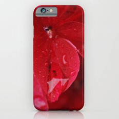 hydrangea flower with raindrops Slim Case iPhone 6s
