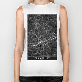 Frankfurt Black Map Biker Tank