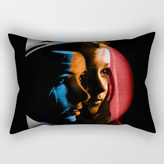 Looking Rectangular Pillow