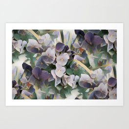 Lilacs In My Dreams Art Print