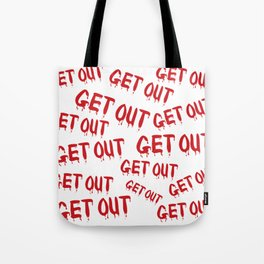 Get Out Horror House Tote Bag
