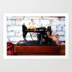 The Singer Art Print