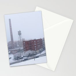 Snowy Day On Libby Hill In Richmond Virginia Stationery Cards