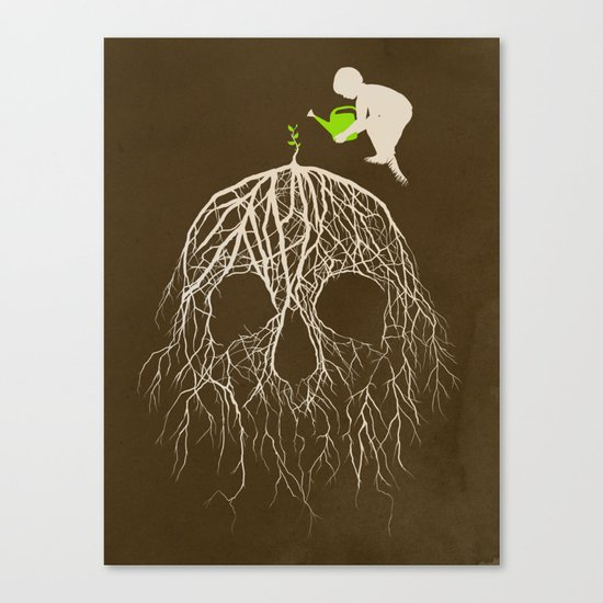 Bad Seed Canvas Print