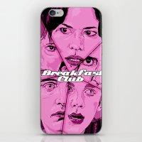 breakfast club iPhone & iPod Skins featuring Breakfast Club by David Amblard