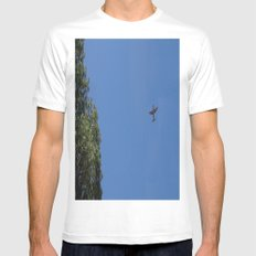 Airplane C130h Mens Fitted Tee White MEDIUM