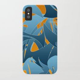 Tropical Abstract Mayhem iPhone Case