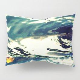 Swirls Of Blue Pillow Sham