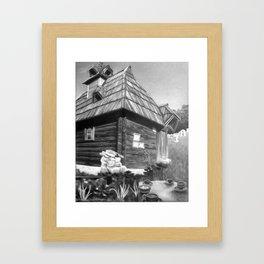 Mokra Gora Framed Art Print