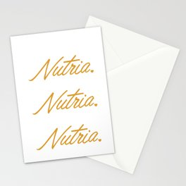 I love my Nutria Myocastor Rodent Nutria Coypu Stationery Cards