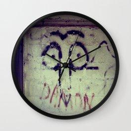 Googlee Eye - The Rural Graffiti Series  Wall Clock