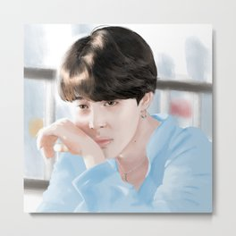 BTS JIMIN Fanart [Naver x Dispatch] Metal Print