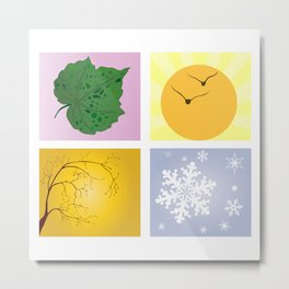 The Four Seasons Metal Print