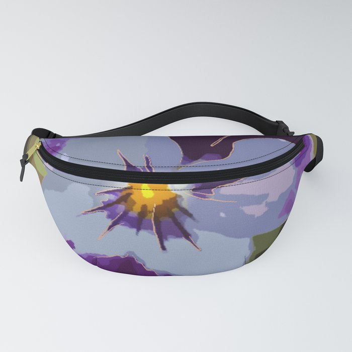 Big Flower Fanny Pack