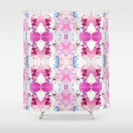 Pinky Swear (Abstract Paint Photograph) Shower Curtain