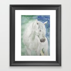 White Spirit Framed Art Print