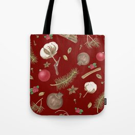 Branches of tree and spices Tote Bag