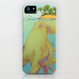 Oct'island iPhone Case