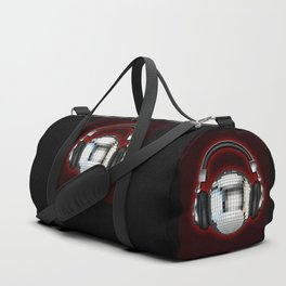 Headphone disco ball Duffle Bag