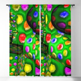 Colorful toys ... Blackout Curtain