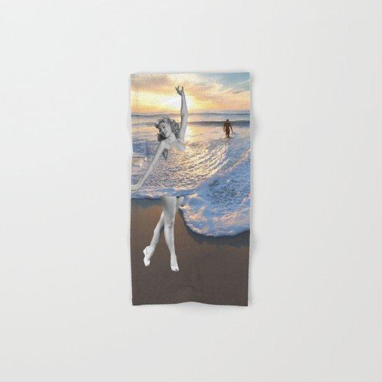 Like a wave Hand & Bath Towel