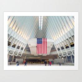 Path Station | New York City | America Art Print