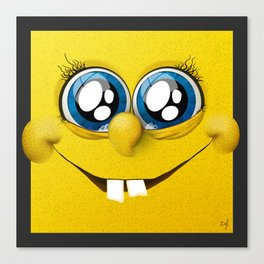 Spongebob Squared Canvas Print